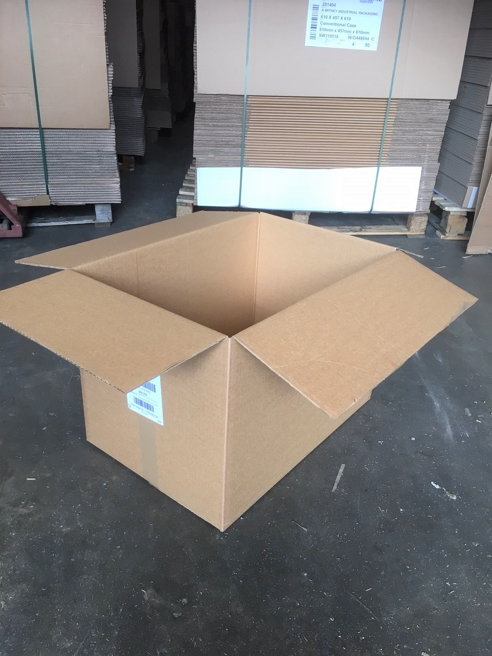 Strong single wall used boxes
